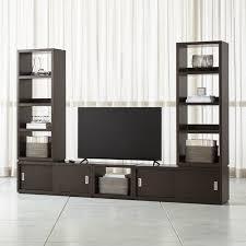 media center with bookshelves. Plain Bookshelves Aspect Coffee Modular Media Center With 23 Inside With Bookshelves B