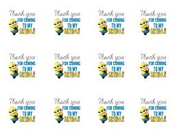 diy design den minion birthday party printables