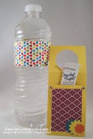 Water Bottles To Decorate Decorate Water Bottles with Scrapbook Paper Ink it Up With 8