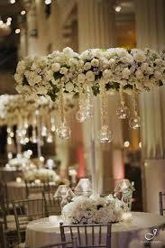 how to make chandelier centerpieces diamonds
