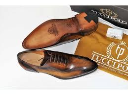tuccipolo kesington tp handstitched luxury mens handmade brown italian leather shoe