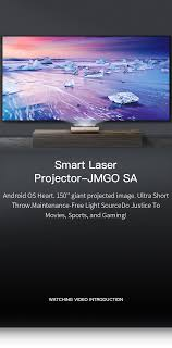 Ultra Short Throw Smart <b>Laser</b> Projector/<b>Laser</b> TV - <b>JMGO SA</b>