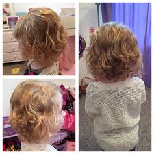 Toddler Girl Curly Hair Bob Short Haircut Clothing Ideas In 2019