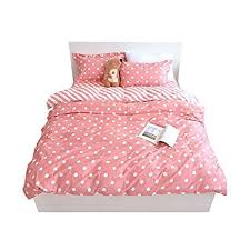 polka dot bedding.  Dot YOUSA Polka Dot Bedding Set Pink Duvet Cover Girls Twin And Y