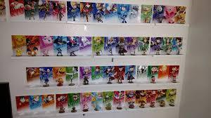 Stuffed Animal Display Stand Smash Brothers Amiibo Set All 100 Smash Amiibo Wall 6