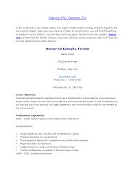 Dance Resume Samples Grader Cover Letters Insurance Assistant