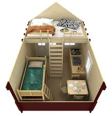 Small Picture Cabin Bunkie Kits Prefab Cabins Bunkies Kits Log Cabins
