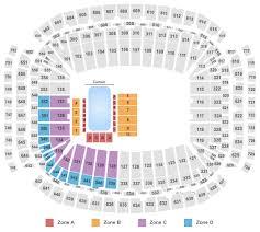 Houston Reliant Stadium Seating Chart Nrg Stadium Seating Chart Houston