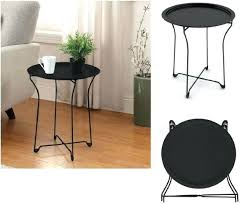 full size of small corner accent table with drawer white round details about metal tray stand