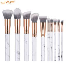 jaf marble makeup brushes vegan synthetic brushes for makeup marble j1024 d best makeup s makeup brushes from cangchun 44 13 dhgate