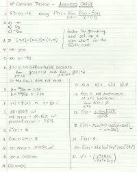 calculus review sheet ap calculus review sheet
