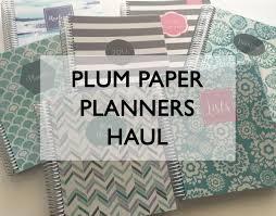 Custom Daily Planner Plum Paper Planners Haul Review Better Than The Erin Condren
