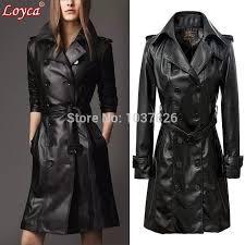 leather coats loyca leather suede best sashes pockets on epaulet turn