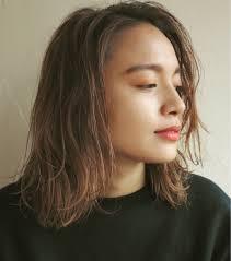 最新髪型トレンド夏カラーでモテるミディアムスタイルはコレhair