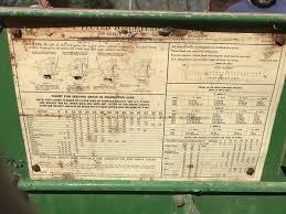 John Deere Van Brunt Grain Drill Seed Chart The Best