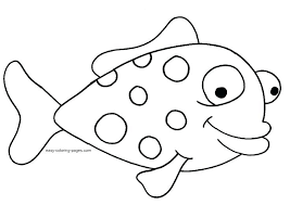 Small Fish Template Fish To Color And Cut Out Coloring Template Pattern Mouth Reflexapp