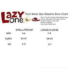 Lazy One Size Chart Lazy One Bearly Awake Thong Slippers For Women Chko8w4z7