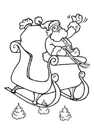 Kleurplaat Kerst Kleurplaten De Kerstman Op Zijn Arreslee 6182