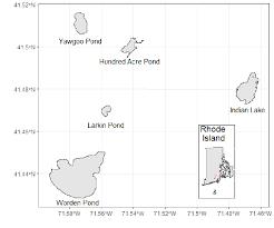 Wordens Pond Depth Chart Lakemorpho Calculating Lake Morphometry Metrics In