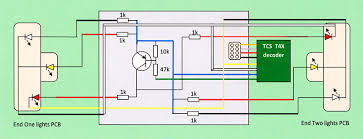 class 50 dcc conversion and lighting update circuit diagram redrawn to show the approximate layout of the wires and components on the locomotive