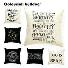 burlap outdoor pillows burlap lumbar pillow covers