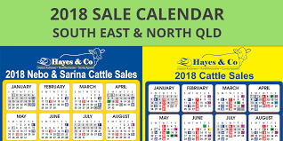 Sales Calendar Hayes And Co