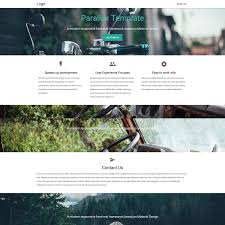 material design html templates available for materialize parallax template