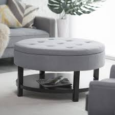 round ottoman coffee tables
