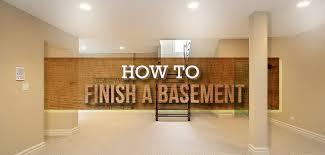 steps for finishing your basement