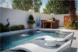 Pool furniture ideas Water Ledge Lounger The Ultimate inwater Pool Furniture Luxury Pools Outdoor Living Ledge Lounger The Ultimate inwater Pool Furniture Luxury Pools
