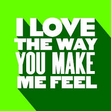Make Me A Chart I Love The Way You Make Me Feel Chart By Sebastian Weikum