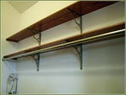 closet shelf brackets rod image of wire clothes delightful bracket 2 and regarding wonderf