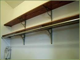 closetmaid shelf bracket spacing wire closet shelving full size