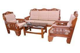furniture teak wood sofa set arch