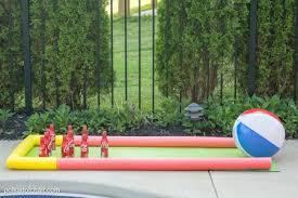 diy outdoor bowling