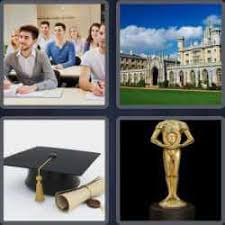4 pics 1 word 7 letters Academy