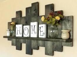 country farmhouse wall decor rustic offset shelf ebony offset shelves wooden shelves shabby chic decor rustic