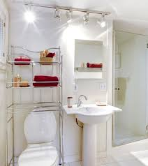 ... Astounding Simple Bathroom Decorating Ideas 13 Astonishing Decoration  Simple Bathroom Decor 12 Fancy Plush Design Guest ...