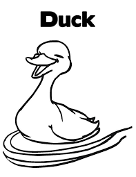 Small Picture Free Printable Duck Coloring Pages For Kids