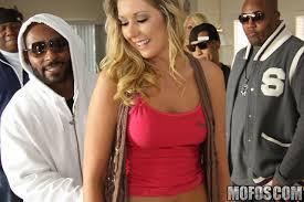 Slutty girl Alysha Rylee is getting big black monster in butt hole.