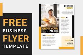 Free Business Flyer Templates Word Document Saidi Creative