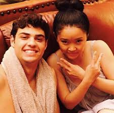 Yep, noah and lana were just casually being cute af while the camera wasn't even on. Noah Centineo And Lana Condor In To All The Boys I Ve Loved Before 2018 Lara Jean Boys Love Movie
