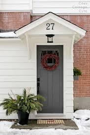 colored front doorsPainted Front Doors  Part 2  Beneath My Heart
