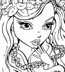 Kawaii Unicorn Coloring Pages Cute Girl Useful To Print Fresh Cat
