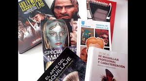 mis libros de maquillaje y sfx