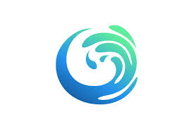 The file comes as a digital download only. Water Splash Vector Logo Graphic By Hartgraphic Creative Fabrica