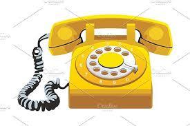 telephone   Vector art illustration, Graphic, Retro