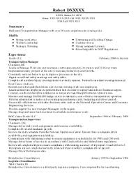 Brilliant Ideas of Truck Dispatcher Resume Sample For Your Format Sample
