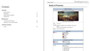 Wikipedia Create How To Create Ebook From Wikipedia Pages