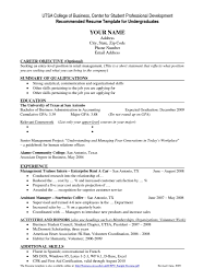 100 Job Resume Template College Student Pdf Resume Template